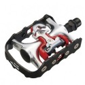 Pedales ciclismo indoor mixtos Wellgo WPD-981