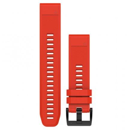 Correa Quickfit™ Garmin Fenix 5 de 26mm rojo
