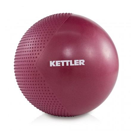 Fitball Kettler 75cm granate Profesional