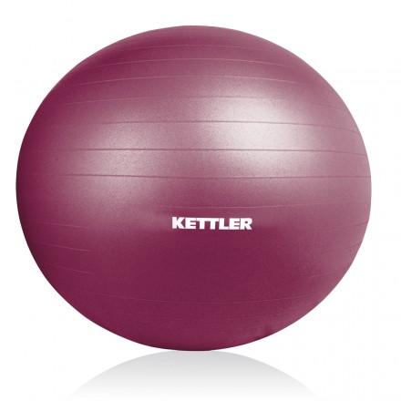 Fitball Kettler 75cm granate