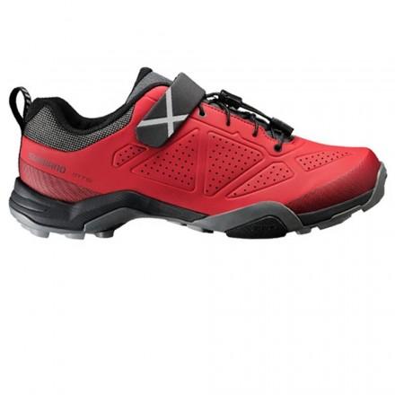 Zapatillas Spinning Shimano MT5 Rojo