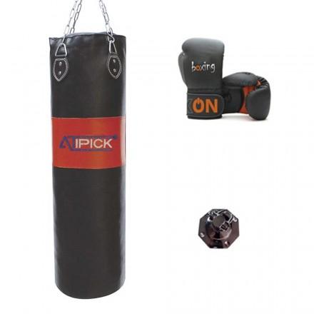 Kit Saco Boxeo 100 y Guantes Boxeo