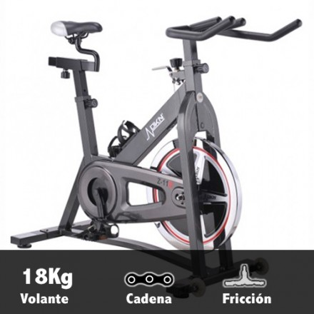 Bicicleta ciclismo indoor DKN Spinbike Z-11D Caracterísitcas