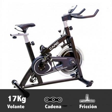 Bicicleta ciclismo indoor Care Spider RS Características