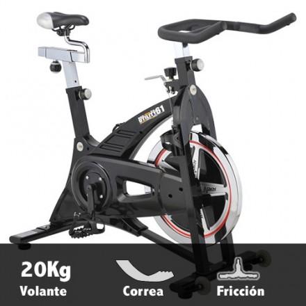 Bicicleta ciclismo indoor DKN Spinbike Racer Pro Características