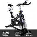 Bicicleta ciclismo indoor Horizon S3 Plus