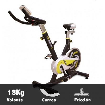 Bicicleta ciclismo indoor BH Fitmoon Características
