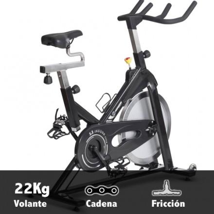 Bicicleta ciclismo indoor Horizon S3 Características