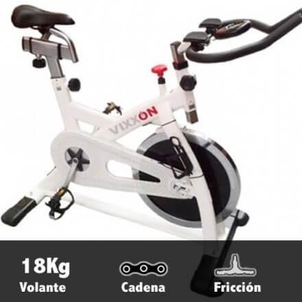 Bicicleta spinning volante 18kg