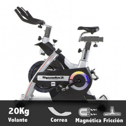 Bicicleta ciclismo indoor BH Spada 2 características