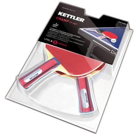 Raquetas Ping Pong Kettler Set de 2 Palas