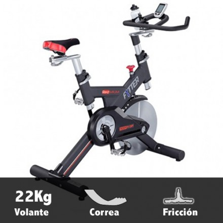 Bicicleta ciclismo indoor Fytter Rider RI-09R Características