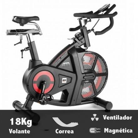 Bicicleta ciclismo indoor BH i.Air Mag Características
