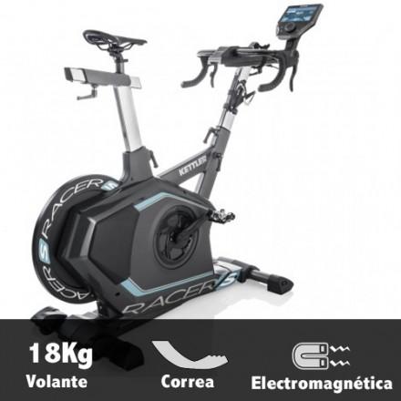 Bicicleta ciclismo indoor Kettler Racer S Características