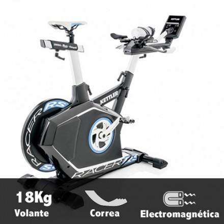 Bicicleta ciclismo indoor Kettler Racer RS Características