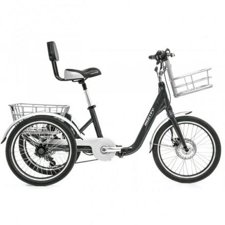 Triciclo Eléctrico Monty Monty E132 Negra