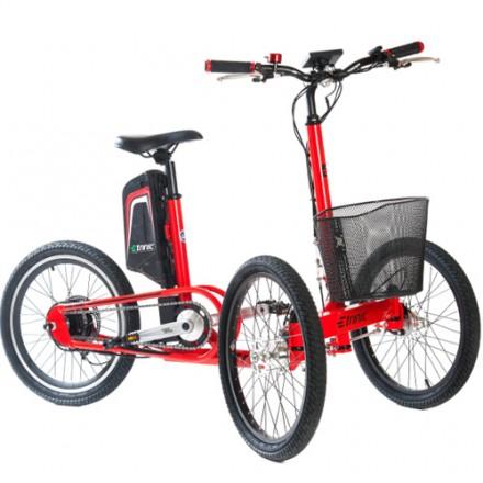 Triciclo Eléctrico Etnnic Citty