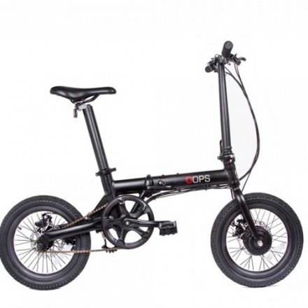 Bici Eléctrica FunBike Oops Negra