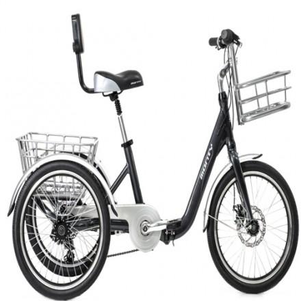 Triciclo Adulto Monty 608 Negro