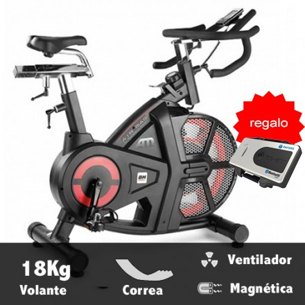 Bicicleta ciclismo indoor BH Air Mag Regalo X-KIT