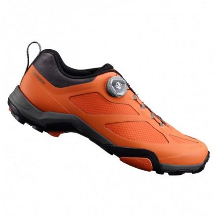Zapatillas Shimano MTB MT700 color naranja