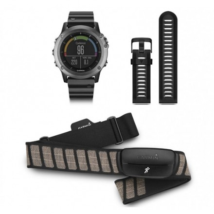 GPS Reloj Garmin Fenix 3 Zafiro + cinta pectoral pack