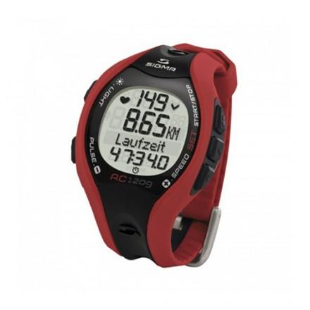 Pulsómetro Sigma Sport RC-1209 Codificado Rojo