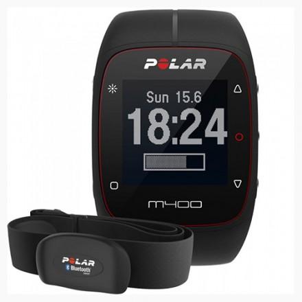 Pulsómetro Polar M400 HR Negro pack