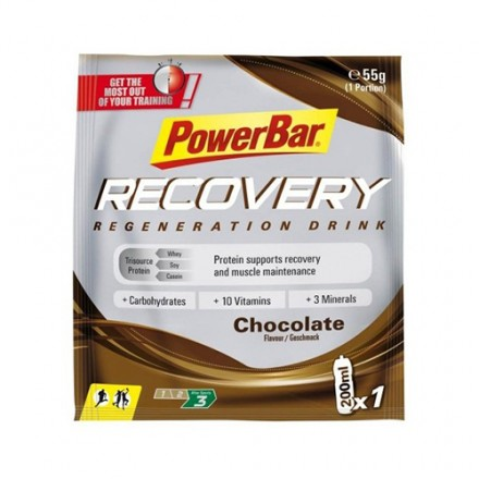 PowerBar Recobery Drink Chocolate Sobre 55gr