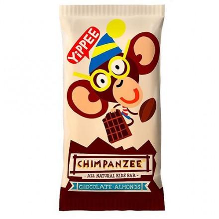 Barrita Chimpanzee Kids 35GR Chocolate-Almendras