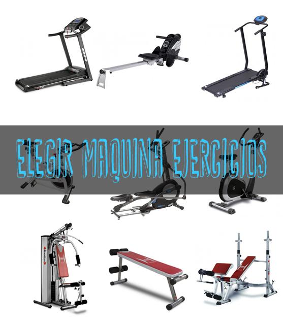 Elegir la mejor maquina para hacer ejercicio en casa Blog
