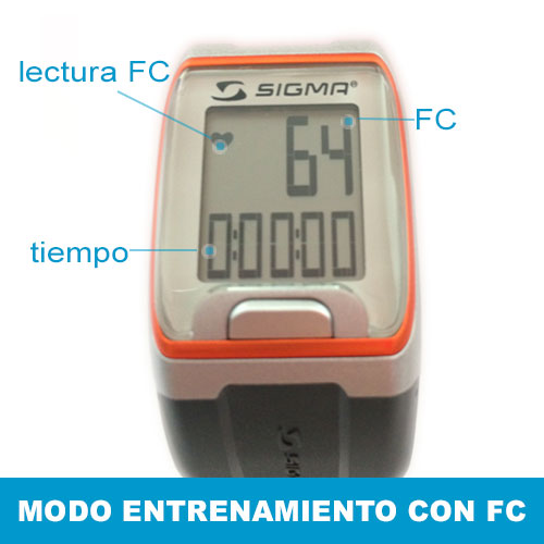 Pulsómetro Sigma PC 3.11 Pantalla 2