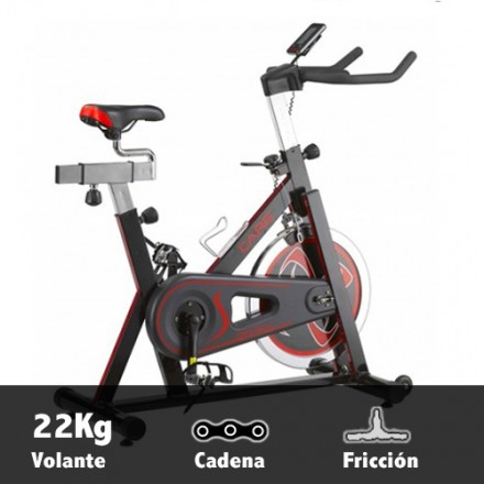 Bicicleta ciclismo indoor Care Speed Racer Características