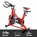 Bicicleta ciclismo indoor Care Spider 22