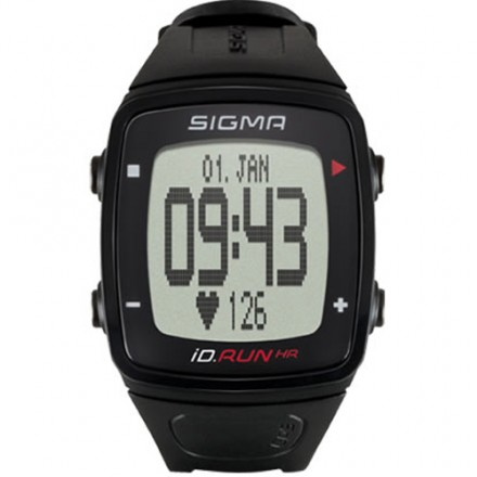 Sigma iD. Run HR GPS Negro