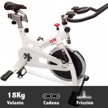 Bicicleta spinning volante 18kg