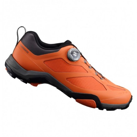Zapatillas Shimano MTB MT700 color naranja