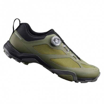 Zapatillas Shimano MTB MT700 color verde